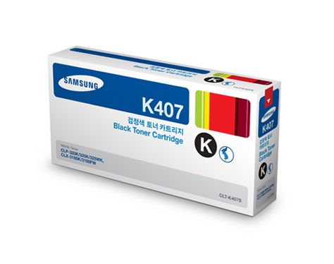 Mực In Samsung CLT K407S Black Toner Cartridge (CLT-K407S/SEE)