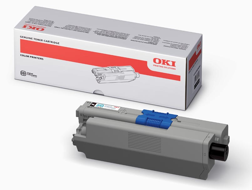 Mực in Oki C510 Black Toner Cartridge (44469818)