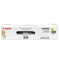 Mực in Canon 329 Yellow laser toner cartridge