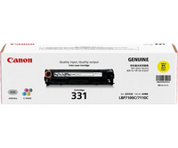 Mực in Canon 331Y Yellow Laser Toner Cartridge