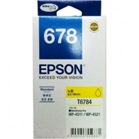 Mực in Epson 678 Yellow Ink Cartridge (C13T678490)