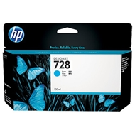Mực in HP 728 130-ml Cyan DesignJet Ink Cartridge (F9J67A)