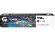 HP 981A Magenta Original PageWide Cartridge (J3M69A)